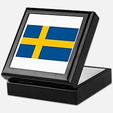 Swedish Pride Keepsake Box