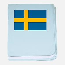Swedish Pride baby blanket