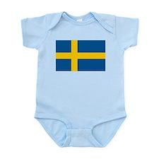 Swedish Pride Infant Bodysuit
