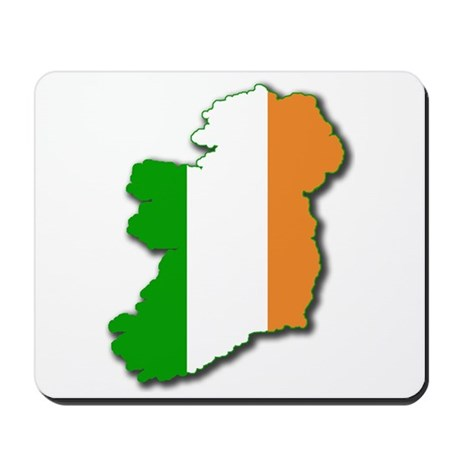 Irish Map Mousepad