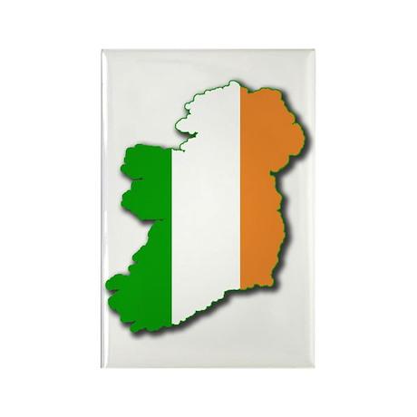 Irish Map Rectangle Magnet (100 pack)