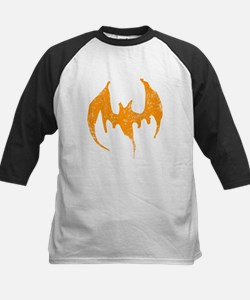 Grunge Bat Kids Baseball Jersey