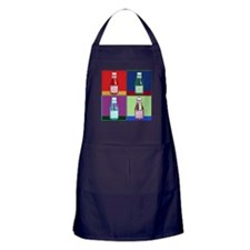Pop Art Ketchup Apron (dark)