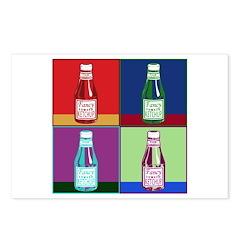 Pop Art Ketchup Postcards (Package of 8)