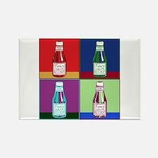 Pop Art Ketchup Rectangle Magnet