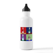 Pop Art Ketchup Water Bottle