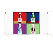 Pop Art Ketchup Banner