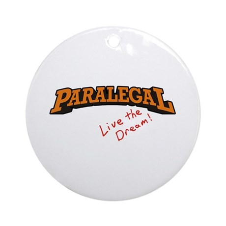 Paralegal / Live Ornament (Round)