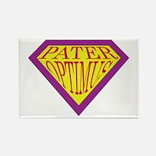 Super Dad (Latin) Rectangle Magnet