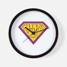Super Dad (Latin) Wall Clock