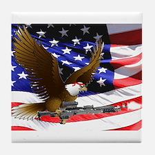 Warrior Eagle Tile Coaster