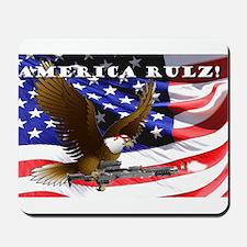 Warrior Eagle Mousepad