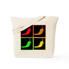 Pop Art Chili Tote Bag