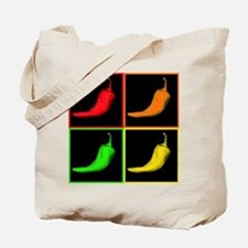Pop Art Chili Tote Bag