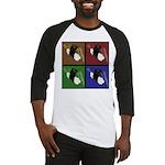 Pop Art Sushi Baseball Jersey