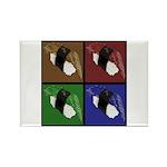 Pop Art Sushi Rectangle Magnet (10 pack)