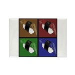 Pop Art Sushi Rectangle Magnet (100 pack)