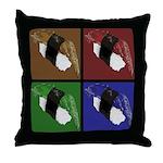 Pop Art Sushi Throw Pillow