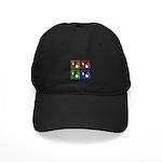 Pop Art Sushi Black Cap