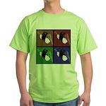 Pop Art Sushi Green T-Shirt