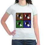 Pop Art Sushi Jr. Ringer T-Shirt