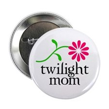 "Twilight Flower Mom 2.25"" Button"