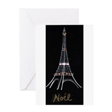 Eiffel Tower Sketch By: Luisa Robins Greeting Card