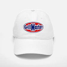 Grill Master Oval Baseball Baseball Cap