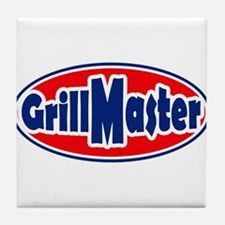 Grill Master Oval Tile Coaster
