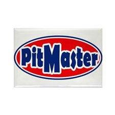 PitMaster Oval Rectangle Magnet (10 pack)