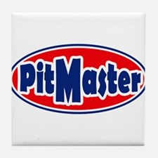 PitMaster Oval Tile Coaster