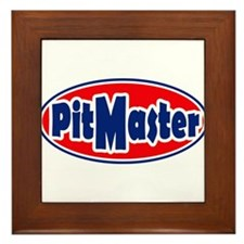 PitMaster Oval Framed Tile