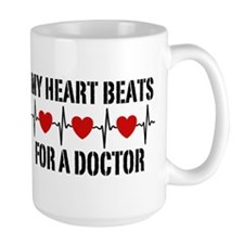 My Heart Beats For A Doctor Mug