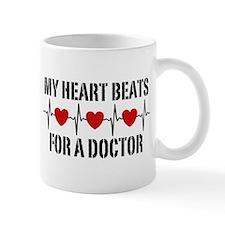 My Heart Beats For A Doctor Mug