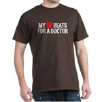 My Heart Beats For A Doctor Dark T-Shirt