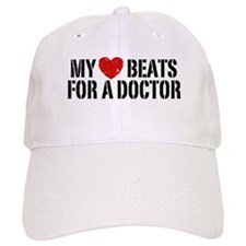 My Heart Beats For A Doctor Baseball Cap