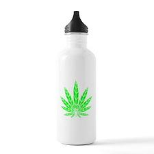 Green Leaf Water Bottle