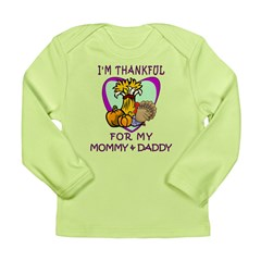 Thanksgiving Kids Long Sleeve Infant T-Shirt