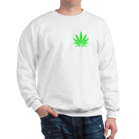 Pot Leaf Sweatshirt