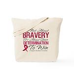 Multiple Myeloma Bravery Tote Bag