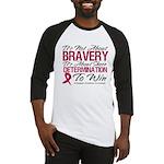Multiple Myeloma Bravery Baseball Jersey