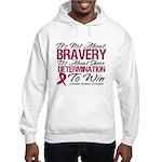 Multiple Myeloma Bravery Hooded Sweatshirt
