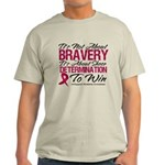 Multiple Myeloma Bravery Light T-Shirt