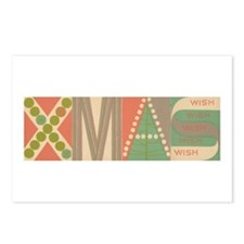 XMAS By: Frederick Hammersley Postcards (Package o