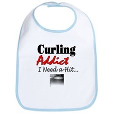 Curling Addict (Hit) Bib
