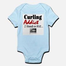 Curling Addict (Hit) Infant Creeper