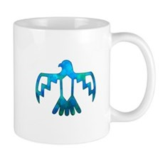 Blue-Green Thunderbird Mug