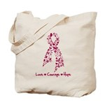 Love Courage Myeloma Tote Bag