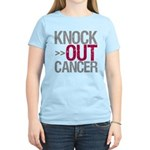 Knock Out Cancer Myeloma Women's Light T-Shirt