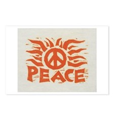 Orange Peace By: Werner Drewes Postcards (Package